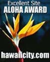 Excellent Site Aloha Award